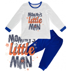 "Pijama copil  ""Mommy's little man"""