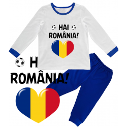 "Pijama copil ""Hai Romania"""