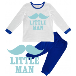 "Pijama copil ""Little man"""