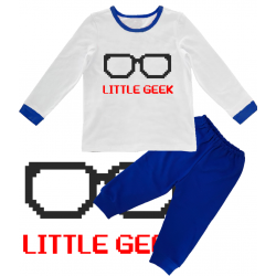 "Pijama copil  ""Little Geek"""