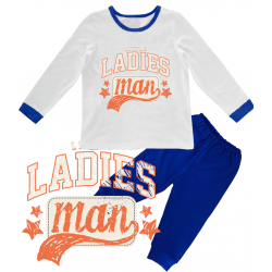"Pijama copil ""Little ladies man"""