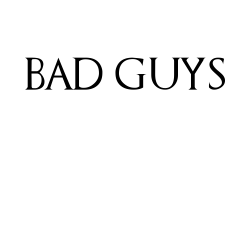 Bad Guys Drink With Tyrion
