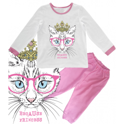 "Pijama copil ""Because Princess"""