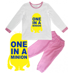 "Pijama copil  ""One in a minion"""