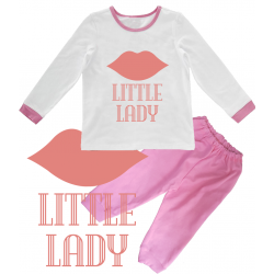 "Pijama copil ""Little lady"""
