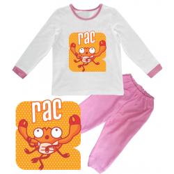 """Pijama copil Zodie """"Rac"""""""