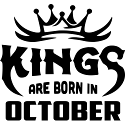 "Cana ""Kings Are Born In October"""