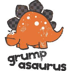 """Cana """"Grumpasaurus"""""""