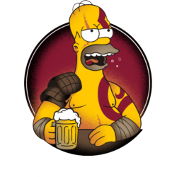 Tricou Homer Simpson God Of Bar
