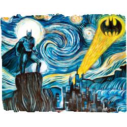 Batman Starry Night