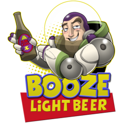 Booze Light Beer