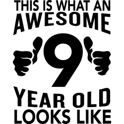 This is what an awesome 9 year old looks like