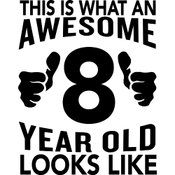 This is what an awesome 8 year old looks like