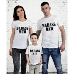 "Set tricouri familie ""Badass Family"""