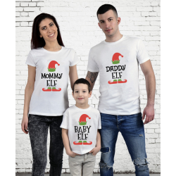 "Set tricouri familie ""Elf family"""