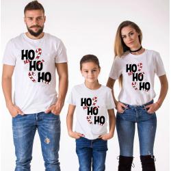 """Set tricouri familie """"Ho Ho Ho"""""""