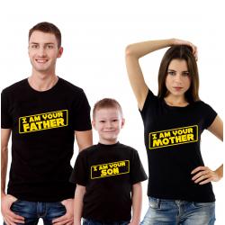 "Set tricouri familie ""Vader family I"""