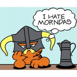 Garfield I Hate Mondays