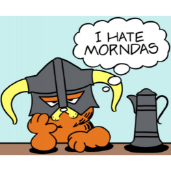 Garfield I Hate Mondays