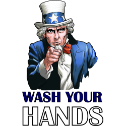 Uncle Sam Wash Your Hands