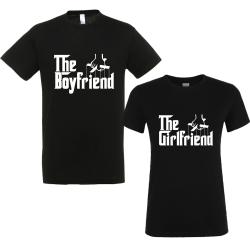 "Set tricouri cupluri ""The boyfriend/girlfriend"""