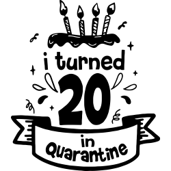 I turned 20 in quarantine