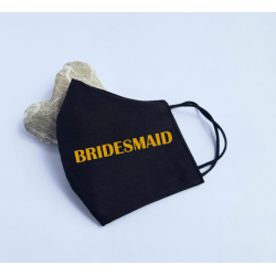 "Masca personalizata ""Bridesmaid"""