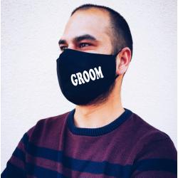 "Masca personalizata ""Groom"""