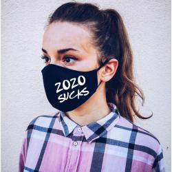 "Masca personalizata ""2020 Sucks"""