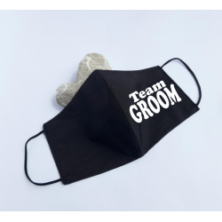 "Masca personalizata ""Team Groom"""