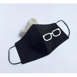 "Masca personalizata ""Geek glasses"""