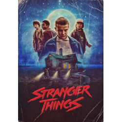 Tricou Stranger Things Poster