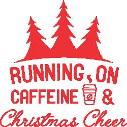 Running on caffeine and Christmas cheer