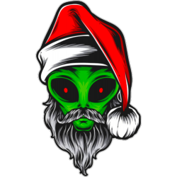 Alien Santa Claus
