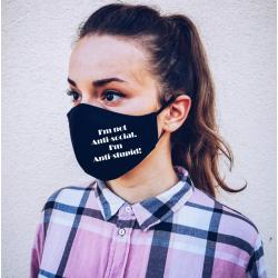 """Masca personalizata """"Anti-Stupid"""""""