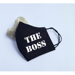 "Masca personalizata ""The Boss"""