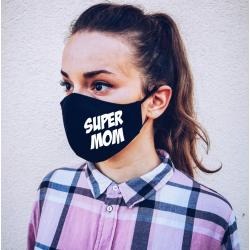 "Masca personalizata ""Super mom"""