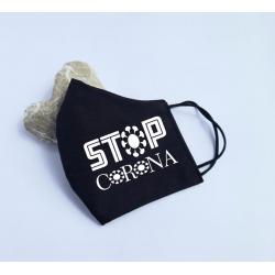 "Masca personalizata ""Stop corona"""