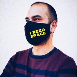 "Masca personalizata ""I need space"""