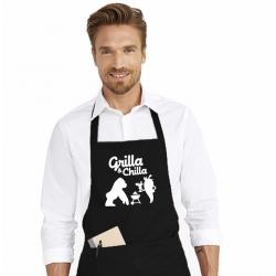 Sort de bucatarie personalizat - Grilla and chilla