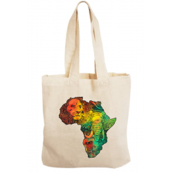 Sacosa bumbac personalizata - Africa