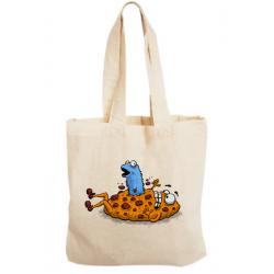 Sacosa bumbac personalizata - Alien Cookie