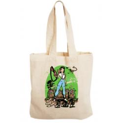 Sacosa bumbac personalizata - Alien Princess