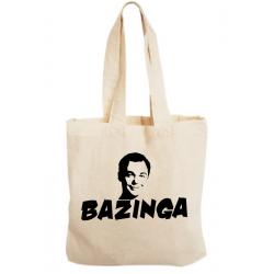 Sacosa bumbac personalizata - Bazinga