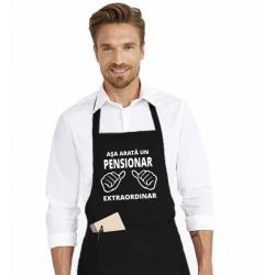 Sort de bucatarie personalizat - Asa arata un pensionar extraordinar