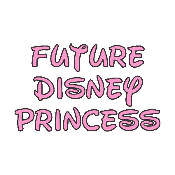 "Body bebelus ""Future Disney Princess"""