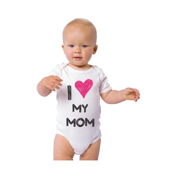 "Body bebelus ""I love my mom"""