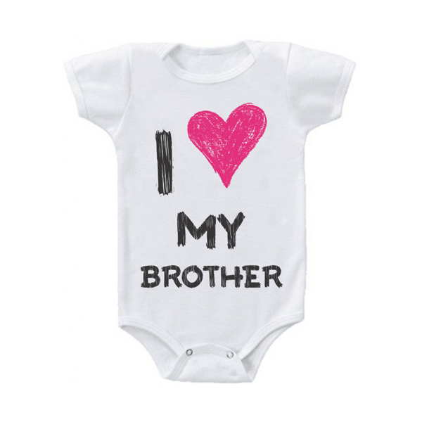 "Body bebelus ""I love my brother"""