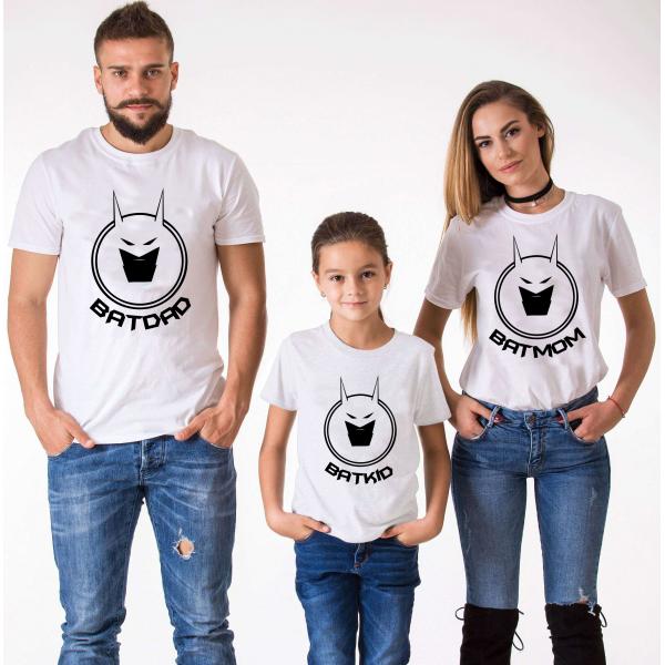 "Set tricouri familie ""Bat family 2"""