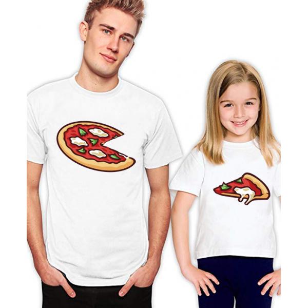 "Set tricouri familie ""Pizza"""
